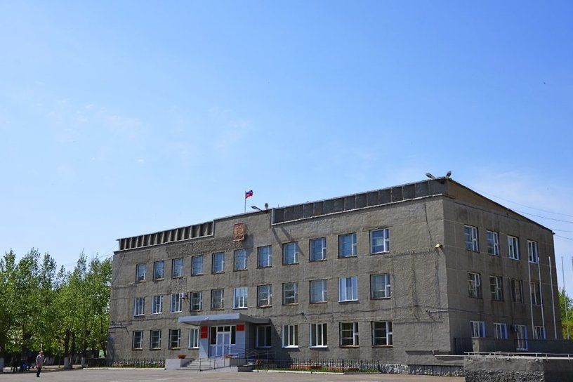 Центр города борзя