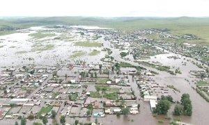 фото Около 8 тыс. жителей края пострадали от третьей волны паводков в Забайкалье