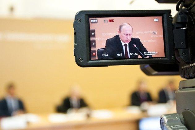 Владимир Путин в Чите, 2013 год