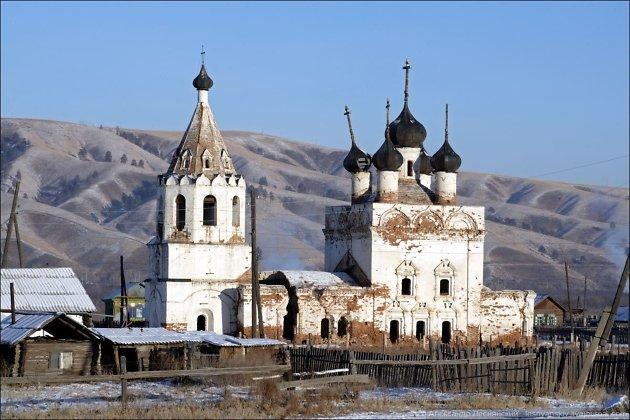 Нерчинская Успенская церковь