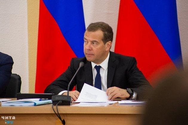 Дмитрий Медведев, премьер министр