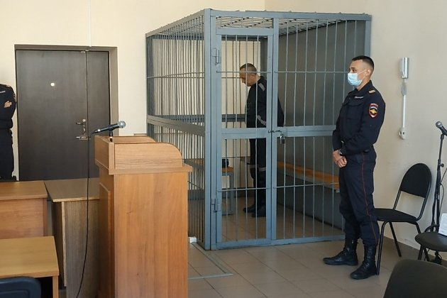Михаил Попков на вынесении приговора 4 июня 2021 года