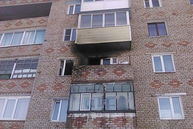 ВТайшете изгорящей квартиры спасли 2-х маленьких детей