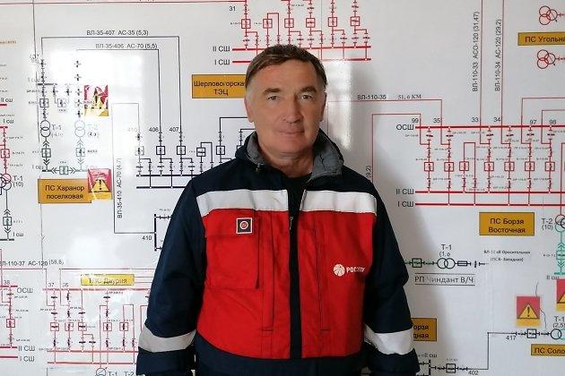 Заслуженный энергетик России Андрей Бянкин