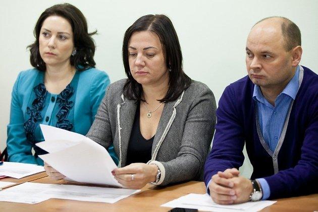 Татьяна Жичина (в центре)