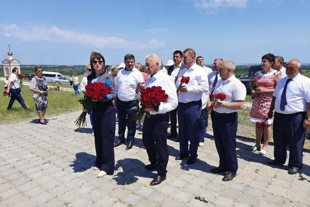 Делегация от Забайкалья почтила память земляков-защитников Сталинграда