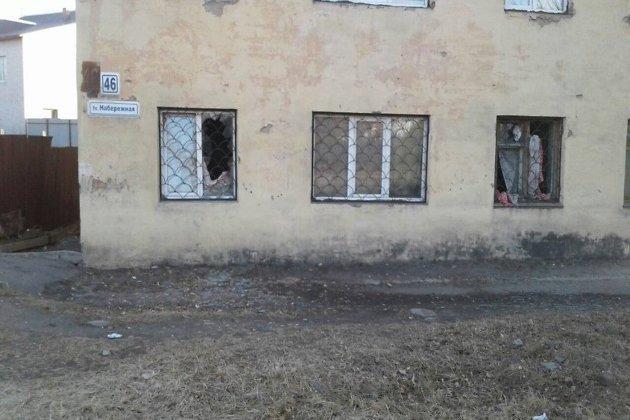 Окна выбило вжилом доме отхлопка газа вЧите, имеется пострадавший