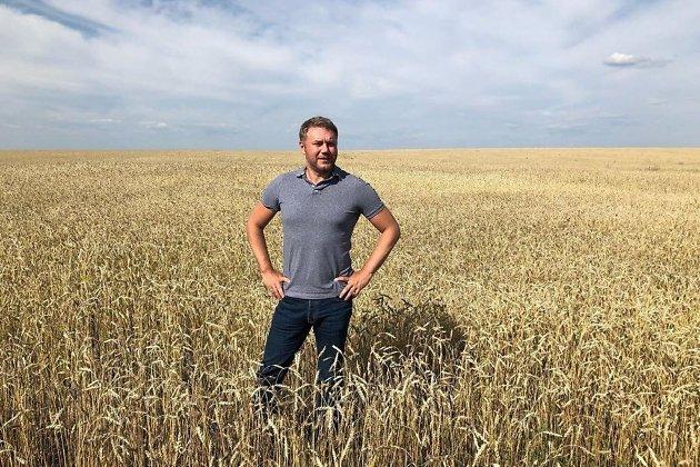 Валерий Нагель, предприниматель, владелец племзавода
