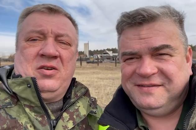 Андрей Гурулёв и Александр Агафонов