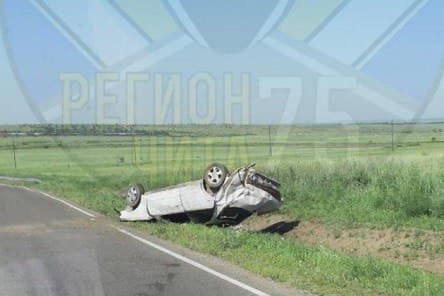 ДТП на дороге в Сивяково в Читинском районе