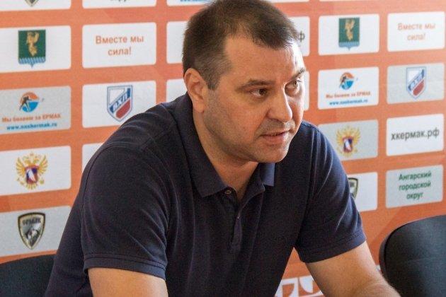 Главный тренер «Ермака» Марат Аскаров