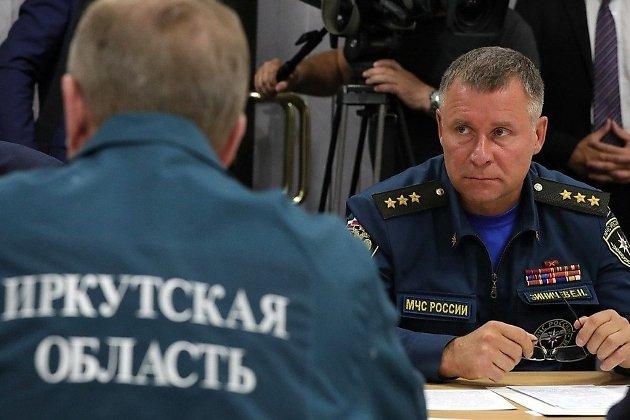 Евгений Зиничев на совещании в Братске