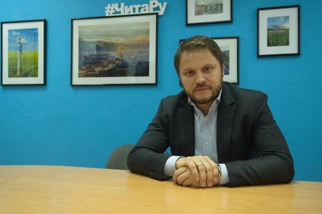 Денис Цесаренко в переговорной