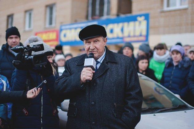 Глава города Анатолий Михалёв обещает вернуть горячую воду в дома Антипихи, март 2018