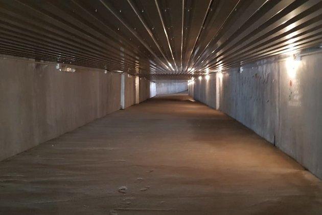 Подземный переход на железнодорожном вокзале Читы
