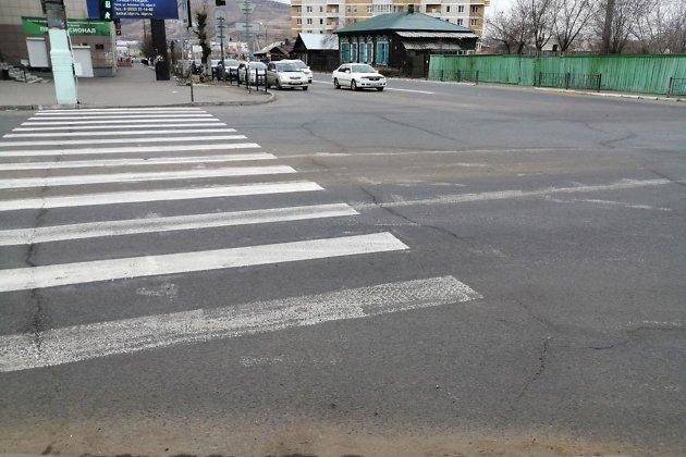 Пешеходный переход на перекрёстке Ленина — Богомягкова