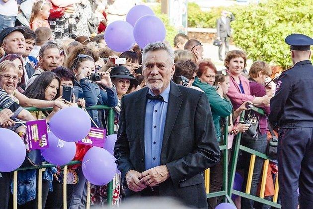 Александр Михайлов на кинофестивале в Чите