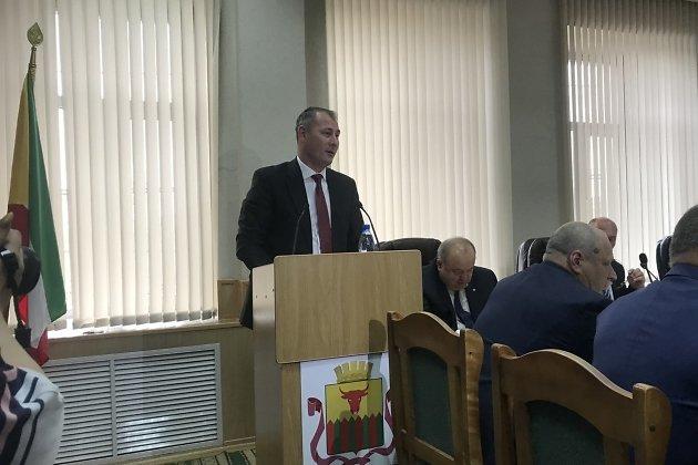Речь нового и.о. главы администрации Читы Александра Сапожникова после назначения