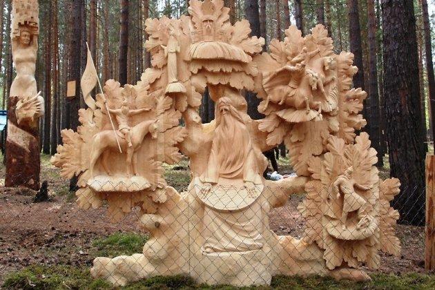 скульптура «Песнь о вещем Олеге»