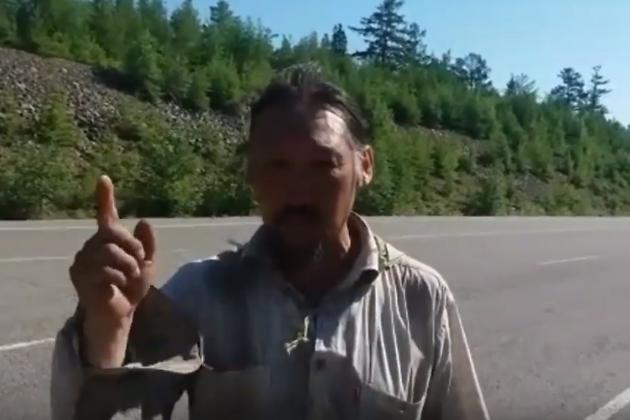 Воин-шаман Александр Габышев призывает забайкальцев на народное собрание