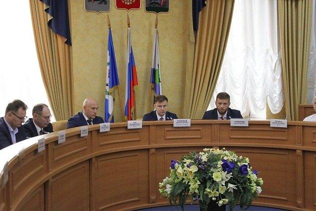 Заседание думы Иркутска