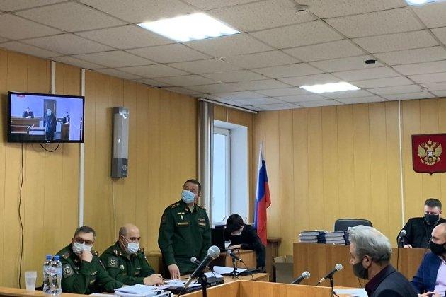 Допрос выжившего во время расстрела в Горном Владислава Шпака
