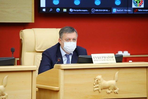 Губернатор Иркутской области Игорь Кобзев