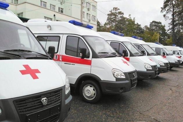 22 автомобиля скорой помощи поступили вИркутскую область
