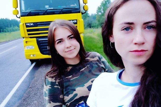 Елена Казарова (слева) и Александра Стрельцова