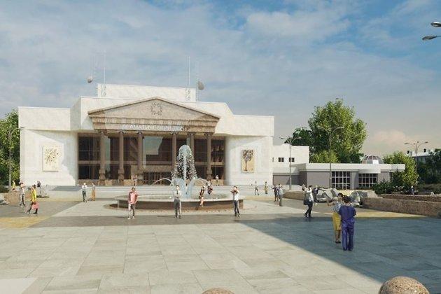 Проект реконструкции театра и прилегающей площади