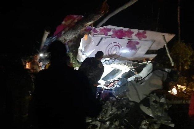 Упавший в Иркутской области L-410