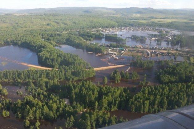 Наводнение в Тунгокоченском районе в июле 2013 года