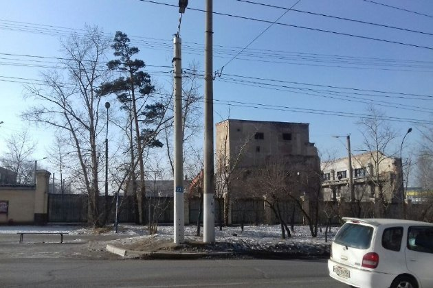 Снос здания Машзавода