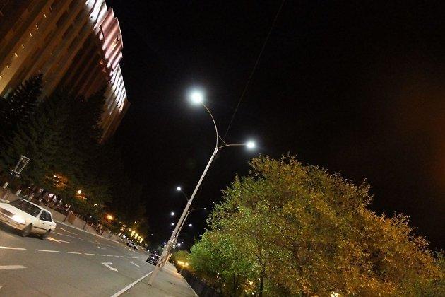 Новые светильники.