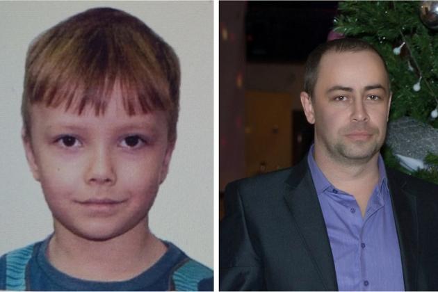 Андрей Рязанов и его отец Сергей Рязанов