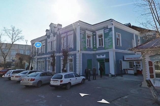 Дом, где работал Фрунзе