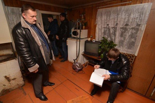 Обыск на даче Шуляковского