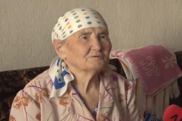 Ветеран Великой Отечественной войны Надежда Ульзутуева