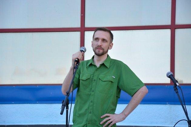 Руководитель штаба Навального в Братске Александр Пахомов