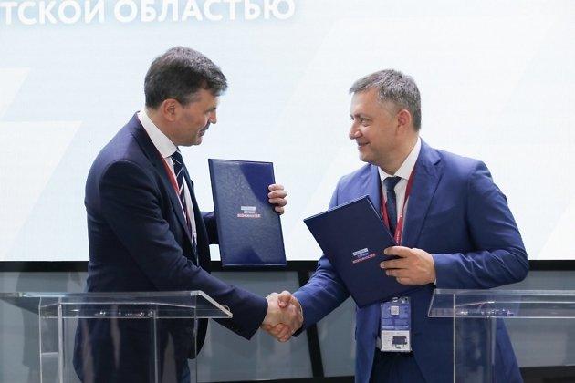 Игорь Кобзев на Петербургском экономическом форуме