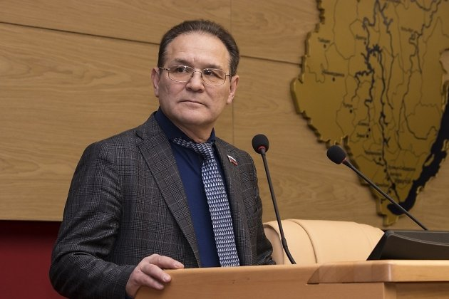 Депутат Законодательного собрания Иркутской области Александр Гаськов