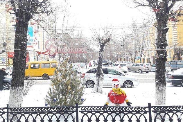 Снеговик у Бюрократа