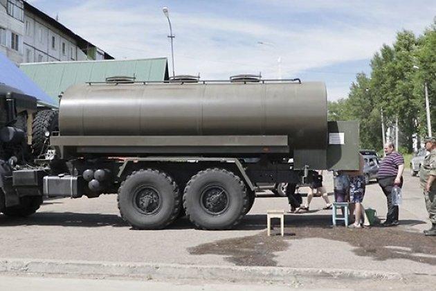 Цистерна с водой