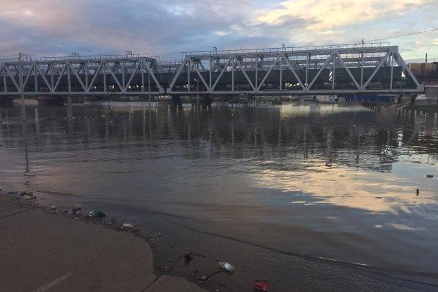 Затопленная улица Лазо