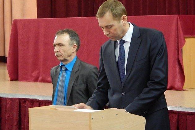 Валерий Просвирнин и Виктор Кондрашов
