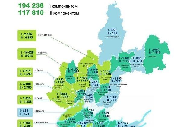 Карта вакцинации на 5 мая