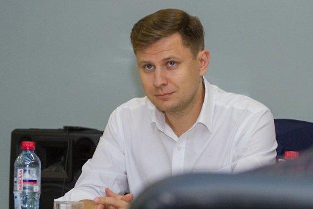 Дмитрий Ружнков на встрече в