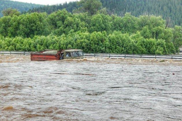 Паводок в Тайшетском районе