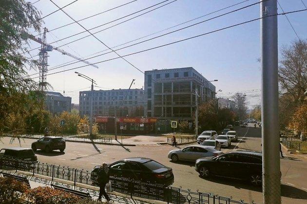 Строящийся ЖК у 130-го квартала, октябрь 2021 г.