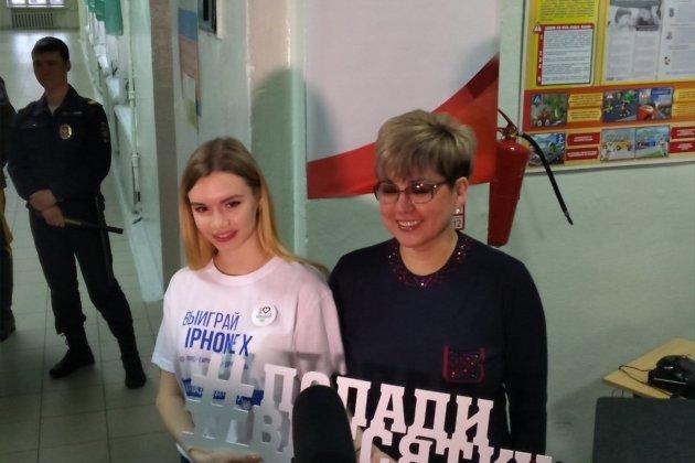 Наталья Жданова снимается для конкурса